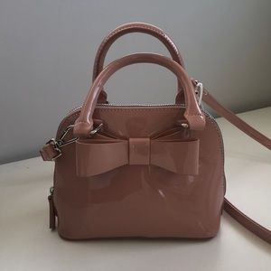 NWT! Betsy Johnson patent leather crossbody bag